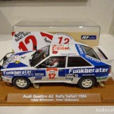 Slot Cars: FLY. AUDI QUATTRO SAFARI RALLY 1984. WITTMANN - DIEKMANN. REF. E-1901. Lote 267491249