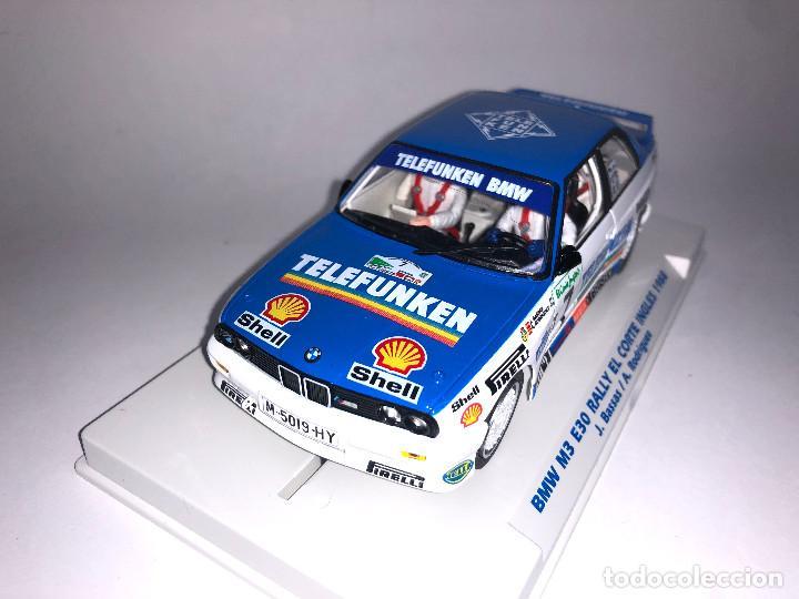 Slot Cars: FLY BMW M3 E30 Rally Corte Ingles 1988 Bassas Slot 1:32 Edición Limitada 350 unidades - Foto 3 - 267511884