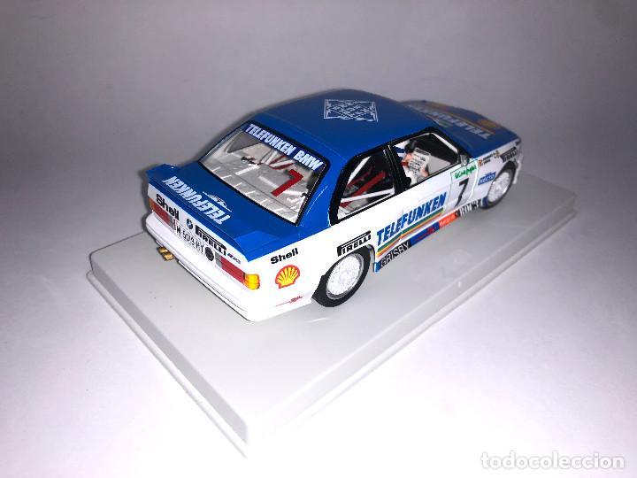 Slot Cars: FLY BMW M3 E30 Rally Corte Ingles 1988 Bassas Slot 1:32 Edición Limitada 350 unidades - Foto 4 - 267511884