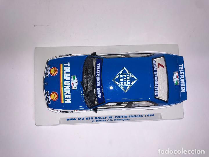 Slot Cars: FLY BMW M3 E30 Rally Corte Ingles 1988 Bassas Slot 1:32 Edición Limitada 350 unidades - Foto 5 - 267511884