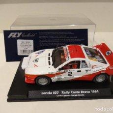 Slot Cars: FLY. LANCIA 037. RALLY COSTA BRAVA 1984. CAPONE - CRESTO. REF. A-996. Lote 268450194