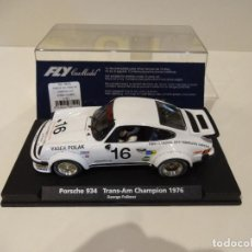 Slot Cars: FLY. PORSCHE 911 - 934 TRANS-AM. CHAMPION 1976. REF. A-961 - 88141. Lote 268802014
