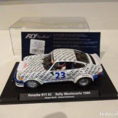 Slot Cars: FLY. PORSCHE 911 SC. RALLY MONTECARLO 1980. REF. A-934 - 88170. Lote 268802389