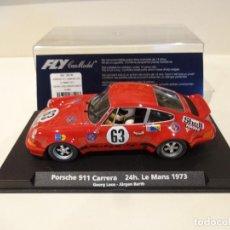 Slot Cars: FLY. PORSCHE 911 CARRERA. 24H LE MANS 1973. REF. A-902 - 88140. Lote 268802554