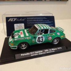 Slot Cars: FLY. PORSCHE 911 CARRERA. 24H LE MANS 1973. REF. A-903 - 88184. Lote 268802619