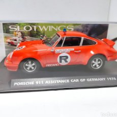Slot Cars: FLY PORSCHE 911 ASSISTANCE CAR GP GERMANY 1976 SLOTWINGS REF. W036-01.. Lote 269462843
