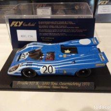 Slot Cars: FLY. PORSCHE 917K. 1000KM OSTERREICHRING 1970. REF. C-56. Lote 270260718
