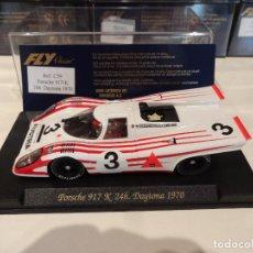 Slot Cars: FLY. PORSCHE 917K. 24H DAYTONA 1970. REF. C-59. Lote 270261433