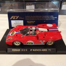 Slot Cars: FLY. FERRARI 512 S. N.A.R.T. REF. C-3. Lote 270261893
