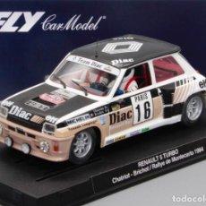 Slot Cars: RENAULT 5 TURBO CHATRIOT RALLYE DE MONTECARLO 1984 (FLY CAR MODEL). Lote 270408518