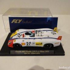 Slot Cars: FLY. PORSCHE 908 FLUNDER LH. 3º LE MANS 1970. REF. C-49. Lote 271564963