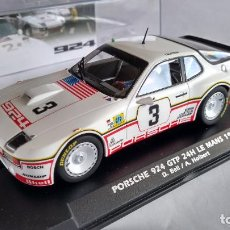 Slot Cars: FLY PORSCHE 924 GTP #3 24H LE MANS 1980. NUEVO EN URNA. VÁLIDO SCALEXTRIC. Lote 271936223