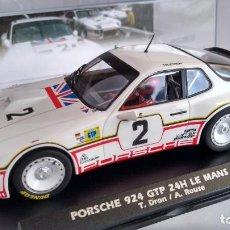 Slot Cars: FLY PORSCHE 924 GTP 24H #2 LE MANS 1980. NUEVO EN URNA. VÁLIDO SCALEXTRIC. Lote 271936293