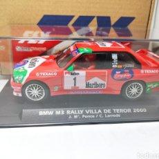 Slot Cars: FLY BMW M3 E30 RALLY VILLA DE TEROR PONCE REF. A2022. Lote 274259478