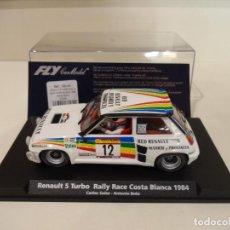 Slot Cars: FLY. RENAULT 5 TURBO. RALLY COSTA BLANCA 1984. SAINZ- BOTO. REF. A-1203. Lote 275317398