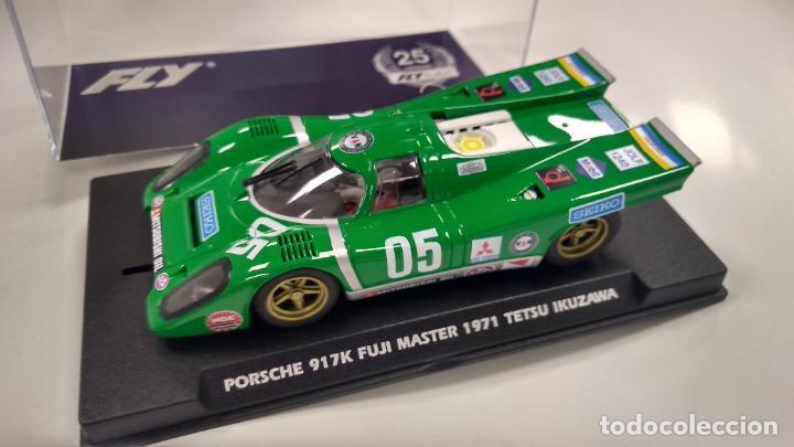 FLY 25º ANIVERSARIO PORSCHE 917K #05 250 KM FUJI MASTER 1971 IKUZAWA REF A2504, VÁLIDO SCALEXTRIC (Juguetes - Slot Cars - Fly)
