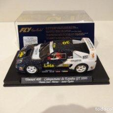 Slot Cars: FLY. VENTURI 400. CAMPEONATO DE ESPAÑA GT 2000. LOIS. REF. A-242. Lote 276126963