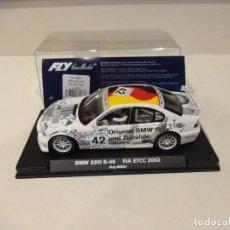 Slot Cars: FLY. BMW 320I E-46. FIA ETCC 2002. REF. A-621. Lote 276141173
