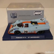 Slot Cars: FLY. PORSCHE 917K. GULF. 10 ANIVERSARIO FLY. REF. A-2005 - 96086. Lote 276141558