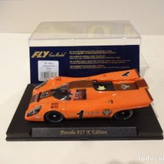 Slot Cars: FLY. PORSCHE 917K. EDITION. JAGERMEIFTER. REF. S-52. Lote 276142913