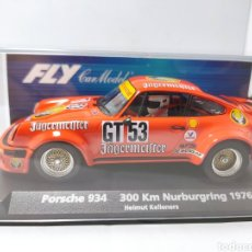 Slot Cars: FLY PORSCHE 934 300 KM NURBURGRING 1976 REF. 88288. Lote 276387903