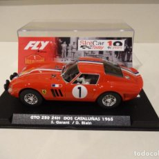 Slot Cars: FLY. FERRARI 250 GTO. RALLY DEUX CATALOGNES 1965. GARANT - BLAIN. ED. LTA. SLOT CAR. REF. E-2022. Lote 276606263