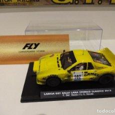 Slot Cars: FLY. LANCIA 037 CAMEL. RALLY LANA STORICO CLASSICO 2013. ED. LTA. FOROSLOT - 3º ANIVERSARIO FLY.. Lote 276606423