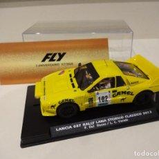Slot Cars: FLY. LANCIA 037 CAMEL. RALLY LANA STORICO CLASSICO 2013. ED. LTA. FOROSLOT - 3º ANIVERSARIO FLY.. Lote 276608258