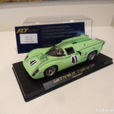 Slot Cars: FLY. LOLA T70 MK3B. 1º GOLD CUP 1969. REF. C-39. Lote 277109673