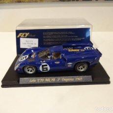Slot Cars: FLY. LOLA T70 MK3B. 1º DAYTONA 1969. REF. C-31. Lote 277109713