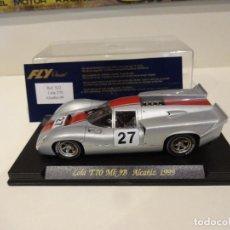 Slot Cars: FLY. LOLA T70 MK3B. ALCAÑIZ 1999. ED. LTA. MINIAUTO. REF. S-32. Lote 277109768
