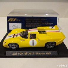 Slot Cars: FLY. LOLA T70 MK3B. 2º THRUXTON 1969. REF. C-32. Lote 277109853