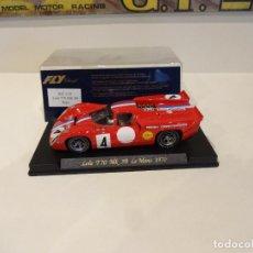 Slot Cars: FLY. LOLA T70 MK3B. 24H LE MANS 1970. REF. C-34. Lote 277119073
