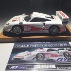 Slot Cars: PORSCHE 911 GT1 EVO FLY CRIN. Lote 277153358