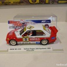 Slot Cars: FLY. BMW M3 E30. J. CECOTTO. KYALAMI DTM 1991. REF. 99125. Lote 278447543
