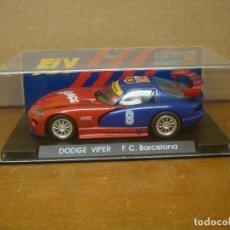 Slot Cars: FLY DODGE VIPER BARÇA. Lote 278462613