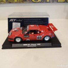 Slot Cars: FLY. BMW M1. PROCAR 1980. BASF. REF. A-1301. Lote 278470763