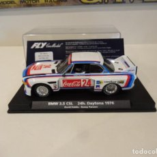 Slot Cars: FLY. BMW 3.5 CSL. 24H DAYTONA 1976. COCA COLA. REF. A-684 - 88110. Lote 278471668