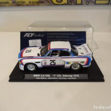 Slot Cars: FLY. BMW 3.5 CSL. 1º 12H SEBRING 1975. CON LUCES!. REF. A-685L - 99011. Lote 278471778