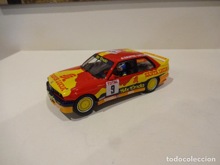 FLY. BMW M3 E30. Nº9. TEAM SANTA LUCIA. FERTÉ. (Juguetes - Slot Cars - Fly)