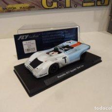 Slot Cars: FLY. PORSCHE 917 SPYDER. TEST CAR. REF, GB9 - 88138. Lote 278565238