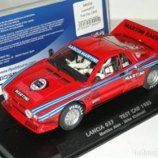 Slot Cars: LANCIA 037 TEST CAR MARTINI FLYSLOT/SCALEXTRIC NUEVO EN CAJA. Lote 278759233