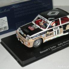 Slot Cars: RENAULT 5 TURBO DIAC FLY /SCALEXTRIC NUEVO EN CAJA. Lote 278759748