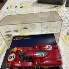 Slot Cars: FERRARI 512 S CODALUNGA LE MANDO 1970 DE FLY. Lote 280849633