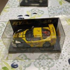 Slot Cars: CORVETTE C5R TEXAS ALMS 2000, DE FLY, NUEVO EN SU CAJA. Lote 280851233