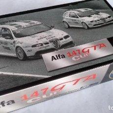 Slot Cars: FLY CAR MODEL, TEAM 8 ALFA ROMEO ESPAÑA ALFA 147 GTA CUP, VÁLIDO SCALEXTRIC. Lote 283288093