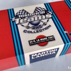 Slot Cars: FLY CAR MODEL, TEAM LANCIA MARTINI 24 H LE MANS 1981 VÁLIDO SCALEXTRIC. Lote 283288763