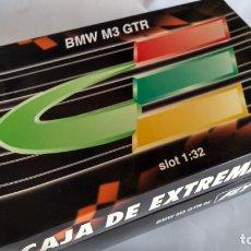 Slot Cars: FLY CAR MODEL BMW M3 GTR E 291 ED. ESPECIAL CAJA EXTREMADURA VÁLIDO SCALEXTRIC . NUEVO. Lote 283291678