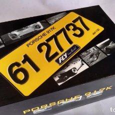 Slot Cars: FLY CAR MODEL PORSCHE 917 K CONDE ROSSI ROAD CAR. DE CALLE REF. S81 VÁLIDO SCALEXTRIC . NUEVO. Lote 283320368