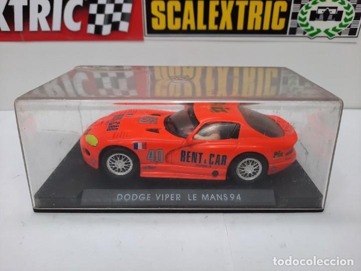 SCALEXTRIC DODGE VIPER LE MANS 94 FLY DESCRIPCION!! (Juguetes - Slot Cars - Fly)